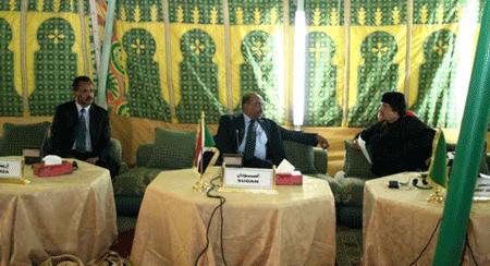 президенты Эритреи, Чада и Ливии