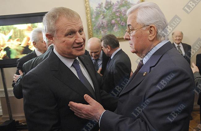 Григорий Суркис (слева) и Леонид Кравчук