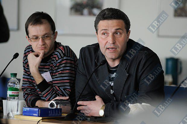 Олег Оганов и Ярослав Чепурной