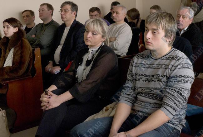 Жена Юрия Луценко с сыном