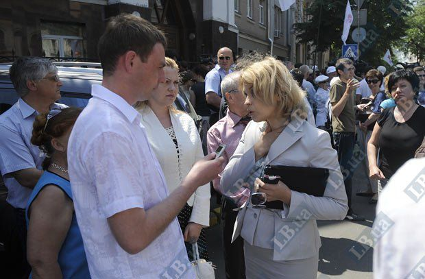 Пресс-секретарь Тимошенко Марина Сорока