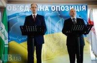 Об'єднана опозиція віддасть своїх кандидатів у депутати під суд