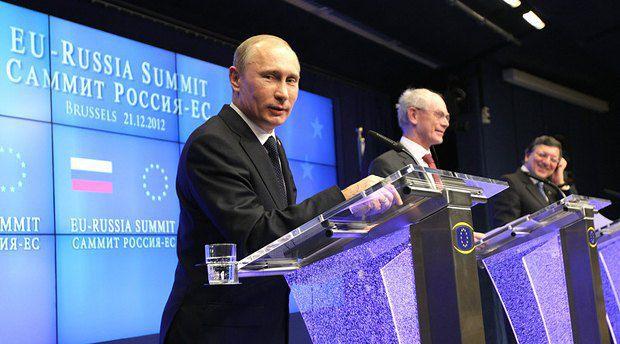 Путин активно общается с европейскими лидерами