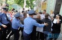 На марш оппозиции пришли провокаторы в образе монашек