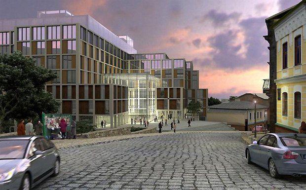 Проект Андреевского-плаза