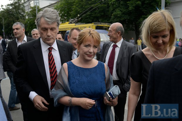 Виктор и Екатерина Ющенко