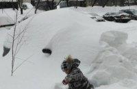 Завтра в Киеве обещают сильный снег, до -11 градусов