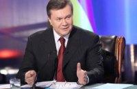 Янукович поздравил металлургов