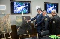 В Одесской области нашли украденные картины итальянских мастеров