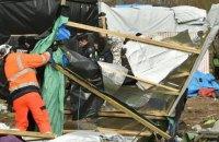 """Из """"Джунглей"""" во французском Кале эвакуируют мигрантов"""