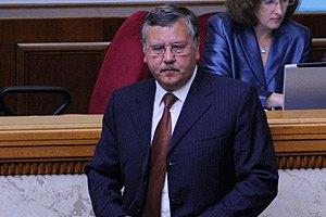 Гриценко: Клюев развернет штаб ПР прямо в аппарате СНБО