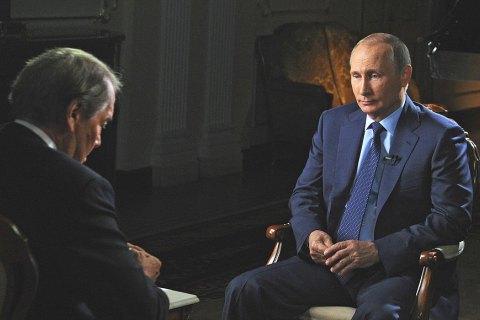 Путін звинуватив США у поваленні Януковича