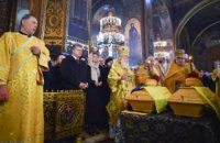 У Києві перепоховали останки українського письменника Олеся і його дружини