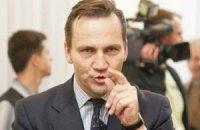 Глава польского МИДа: ЕС не прекратит переговоры о ЗСТ из-за Тимошенко