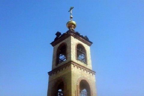 Впроцессе  утреннего обстрела Авдеевки боевики повредили Свято-Михайловский храм