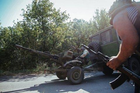 Боевики задень 50 раз обстреляли украинские позиции