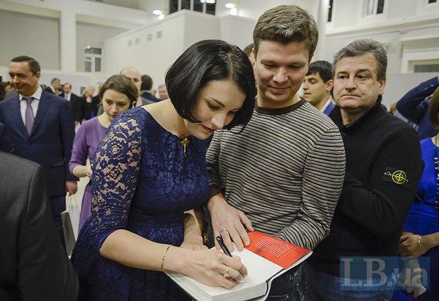 Соня Кошкина, народный депутат Леонид Емец
