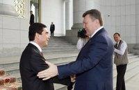 Янукович заложил новый аэропорт в Туркмении