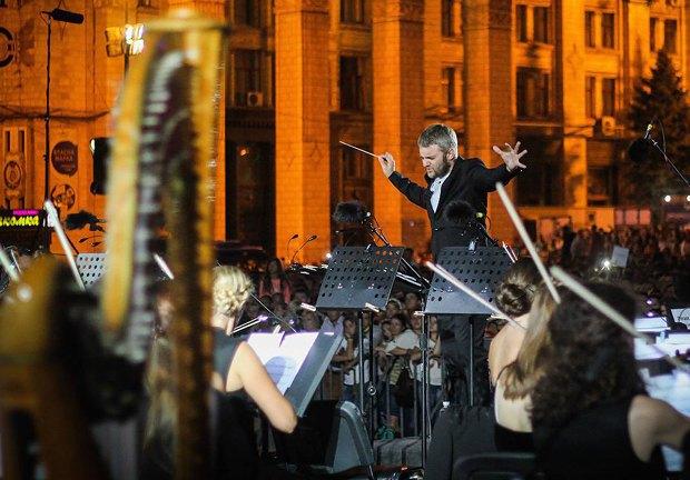 У День Незалежності на Майдані відбувся концерт класичної музики (фото)