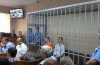 В процессе над «беркутовцами» начался допрос потерпевших