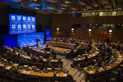 Порошенко выступил на саммите ООН по вопросам миротворчества