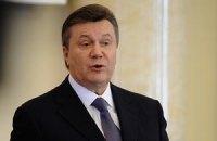 Янукович намерен побороть рецессию строительством дорог