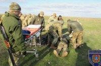 Курсант получил ранения во время стрельб из гранатомета на полигоне в Одессе