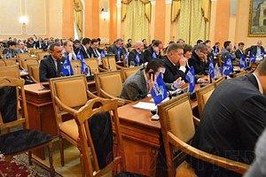 Одесский горсовет с третьей попытки принял обращение к Януковичу