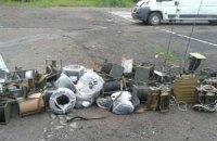 Бойцы Нацгвардии обнаружили склад со средствами спецсвязи российского производства в Славянске