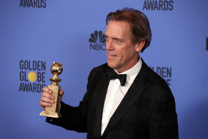 """Хью Лори также получил приз за роль – второго плана –в """"Ночном администраторе"""""""