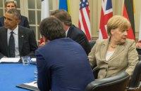 Меркель пока не видит возможности отменить санкции ЕС против России