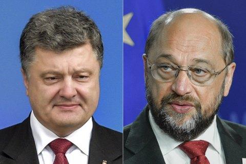 Украина выполнила все условия для введения безвизового режима сЕС— руководитель Европарламента