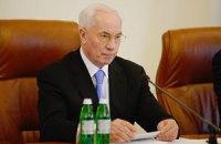 Азаров: поврежденный взрывом дом в Луганске восстановят до начала холодов