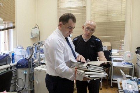 НБУ передал военным госпиталям оборудование на 1 мнл гривен