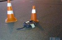 В Киеве пешеход-нарушитель погиб под колесами Lexus