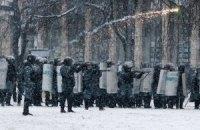Силовики пошли в атаку на Грушевского (онлайн-трансляция)