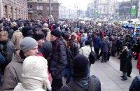"""Сегодня активисты Майдана проведут """"мирное наступление"""" на Раду"""