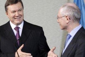 Янукович встречается с европейскими лидерами