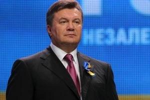 Янукович встретил президента Литвы букетом цветов