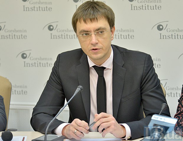 Володимир Омелян