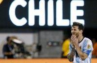 Месси решил больше не играть за сборную Аргентины