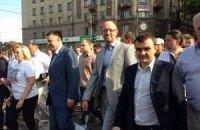 Оппозиция насчитала в Николаеве 6-8 тысяч митингующих, милиция - 1 тысячу