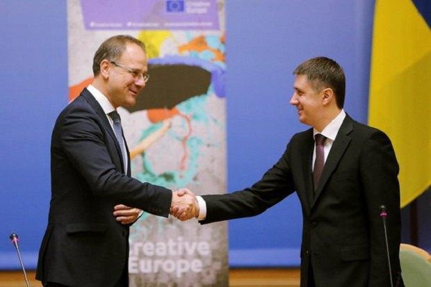 Україна приєдналася докультурної програми ЄС «Креативна Європа»