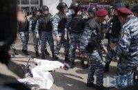 "В МВД объяснили задержание ""молодчиков"" на акции ""Захысту праци"""