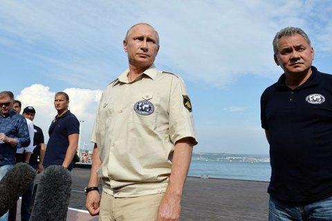Визит Шойгу вКрым возмутил МИД Украины— Киев спросить забыли