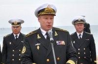 Віце-адмірала ВМСУ відправлено під заочний суд за зраду