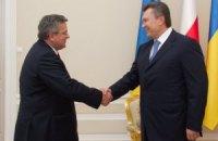 Сегодня Янукович встретится с президентами Польши и Словакии