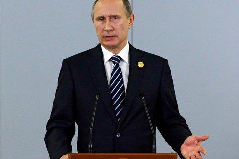 Путін про збитий Су-24: Нам завдали удару вспину