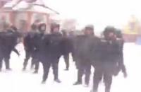 Милиция подтверждает выезд внутренних войск из Василькова в Киев