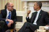 Обама встретился с Яценюком